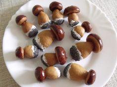 Hríbiky, recepty, Drobné pečivo | Tortyodmamy.sk