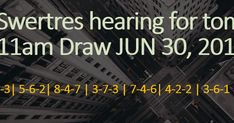 Swertres Hearing JUNE 30 2019 – At this page you can find the Swertres results. The triumphant mixes underneath are the virtuoso PCSO lotto results. The latest Swertres result for Sunday JUNE 2019 are posted at this site for everyone's use. Lotto Results, June 30, Sunday, Draw, Domingo, To Draw, Sketches, Painting, Tekenen