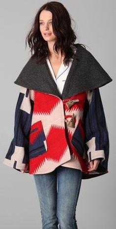 pendleton blanket cloak
