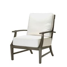 Croquet Aluminum Lounge Chair  Rustic  Folk, Traditional, Transitional, Metal, Lounge Chair by Summer Classics