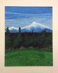 Painting: Mt. McKinley, Alaska