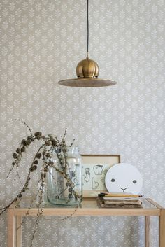 A simple and beautiful wallpaper pattern, this design has been inspired by the ancient Asian tradition of block printing.