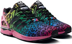 ZX Flux animalier adidas Originals X Italia Independent #zxflux #zxflux20 #zxfluxitaliaindependent #italiaindependent #scarpe #fashion #moda #look #style #sneakers #adidas