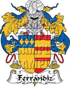 Ferrandiz Family Crest apparel, Ferrandiz Coat of Arms gifts