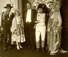 Douglas Fairbanks, Mary Pickford, William Randolph Hearst & Charlie at a Hearst and Marion Davies 1920's costume party. https://www.google.co.uk/search?q=Douglas+Fairbanks,+Mary+Pickford,+William+Randolph+Hearst+%26+Charlie+at+a+Hearst+and+Marion+Davies+1920's+costume+party.&biw=1366&bih=622&tbm=isch&tbo=u&source=univ&sa=X&ei=gaQOVcTwF43aaomPguAP&ved=0CDEQ7Ak&dpr=1