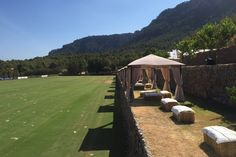 Looking forward to our Engel & Völkers Global Event 2015: Ideal conditions for our polo matches today in #SonColl, #Mallorca. #engelvoelkers