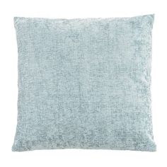 Finished in soft duck egg blue this large chenille cushion is designed with a machine washable, removable cover and a plump polyester hollowfibre insert. Duck Egg Blue Living Room, Duck Egg Bedroom, My Living Room, Duck Egg Blue Pillows, Duck Egg Cushions, Duck Egg Blue Bedroom Accessories, Duck Egg Blue And Brown, Lounge Decor, Lounge Ideas