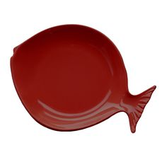 Elite Global Solutions D12FSH Gone Fishin\u0027 Cranberry 12\  Large Melamine Fish Plate  sc 1 st  Pinterest & Retro Plastic Fish Plates Vintage BBQ Plate Holders Aqua Orange ...