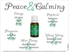 #PeaceAndCalming #EssentialOil