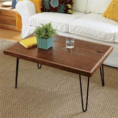 How To Build A Hairpin Leg Coffee Table