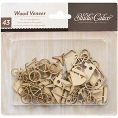 I used these on my husband's cycling scrapbook pages (cherry-picking the bicycles out of the packet).  They were a great addition!  Available at my LSS - PaperTrix.  Product Detail   Studio Calico $3.99