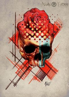15 Rose skulls - Skullspiration.com - skull design, art, fashion and moreSkullspiration.com – skull designs, art, fashion and more