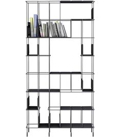 Buy online Network By casamania & horm, open sectional bookcase design Eva Paster, Michael Geldmacher Display Shelves, Storage Shelves, Book Storage, Autocad, Bookshelves, Bookcase, Leather Wall Panels, Wood Rocking Horse, Home Furniture