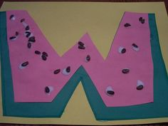 letter w crafts for preschool - Watermelon Preschool Bug Theme, Preschool Projects, Preschool Literacy, Preschool Letters, Preschool Activities, Kindergarten, Class Projects, Letter W Crafts, Abc Crafts