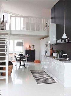 Une cuisine moderne