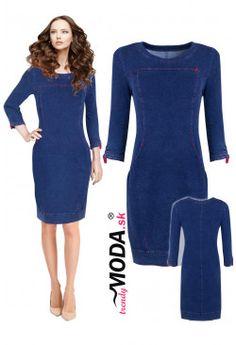 Riflové šaty AR31 Dresses For Work, Fashion, Moda, Fashion Styles, Fashion Illustrations