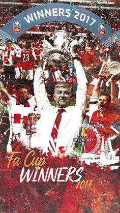 FA Cup 2017 - Arsenal Arsenal Fc, Arsenal Players, Arsenal Football, World Football, Football Soccer, Football Players, Match Of The Day, Arsene Wenger, Pop Art Design