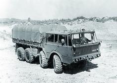 Tatra T813 8x8 - 17640 cm3. ČSLA /24.03.1967/ 11751 ks