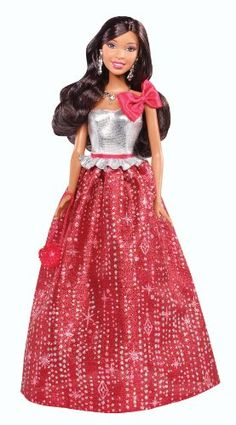 Barbie Holiday African-American Doll Barbie http://www.amazon.com/dp/B00CQHZ2KI/ref=cm_sw_r_pi_dp_1qsBub06501MN