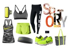 """""""Nike"""" by marianarocha17 ❤ liked on Polyvore featuring NIKE"""
