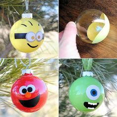 Minion, Elmo and Mike Ornaments are here for You to Try - http://www.amazinginteriordesign.com/minion-elmo-mike-ornaments-try/
