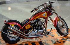 "https://flic.kr/p/nC4LNR | Custom Bike, 1976. ""Vintage Motorcycles"" Harley and Indian Exhibition, Palas Mall, Iasi, Romania | Custom Bike, 1976. ""Vintage Motorcycles"" Harley and Indian Exhibition, Palas Mall, Iasi, Romania"