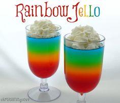 rainbow jello bible snack