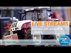 Rc Tractors, Steyr, Trucks, Channel, Live, Youtube, Commercial Vehicle, Scale Model, Truck