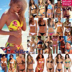 Uk sexy womens push up #beach swimwear triangle bra bikini set #bathing #swimsuit,  View more on the LINK: http://www.zeppy.io/product/gb/2/262360424960/