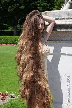 Really Long Hair, Long Brown Hair, Super Long Hair, Big Hair, Dark Hair, Long Face Hairstyles, Haircuts For Fine Hair, Braided Hairstyles, Men's Hairstyle