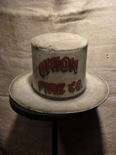 Union Fire Company Stovepipe Hat by navema, via Flickr