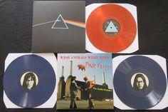 Pink Floyd - de donkere kant van de Maan & Wish dieren Were Here - The Studio Outtakes: Grote partij van 2 albums (3LP) op gekleurd vinyl  Wou dat dieren hier - de Studio Outtakes2LPGatefold sleevePAARS gemarmerd vinylFrom Abbey Road naar Brittania rijDe extractie-Tapes(Licentieservercomputer alternatieve Studio opnamen 1975-1976)WYA 975Onofficiële releaseDe donkere kant van de maanLPGekleurd vinylGatefold sleeveOnofficiële release(Mouw toont enkele dragen aan de voorzijde als gevolg van de…