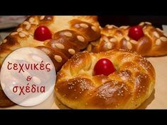افكار جديدة \ اشكال ستجعلك اميرة مميزفي المطبخ New ideas how to make your pastry Greek Sweets, Greek Desserts, Easter Recipes, Sweets Recipes, Cooking Recipes, Cuban Recipes, Greek Recipes, Tsoureki Recipe, Greek Easter Bread