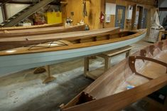 Eye candy: Handcrafted boats from Low & Clear's JT Van Zandt.