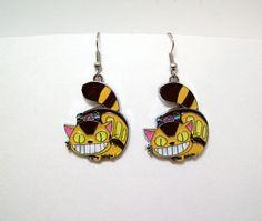 Totoro earrings cat geek anime anime by Eternalelfcreations, $8.00
