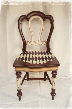 Harlequin obsession ♥ Dining Room Chair     ♥ Vanity Chair