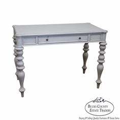Ethan Allen Collectors Classics Small Painted Writing Desk #Traditional