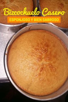 Bizcochuelo casero esponjoso de vainilla por Greysi No Bake Desserts, Delicious Desserts, Dessert Recipes, Snacks To Make, Easy Snacks, Food Cakes, Cupcake Cakes, Mexican Food Recipes, Sweet Recipes