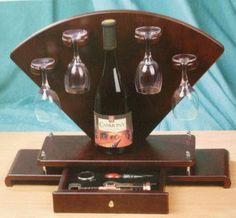 Arc Stand Wine Rack on Etsy, $95.99