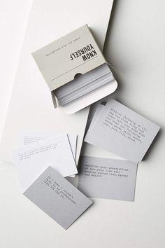 The School of Life 100 Questions Cards Design Poster, Book Design, Game Design, Graphic Design, Wednesday Motivation, Affirmation Cards, Smudge Sticks, Deck Of Cards, Card Deck