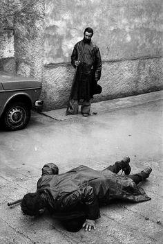 Josef Koudelka - SPAIN. Castellon Province. Catholic Pilgrimage. 1977.