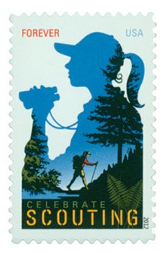 2012 45c Girl Scouting Centenary - Catalog # 4691 For Sale at Mystic Stamp Company