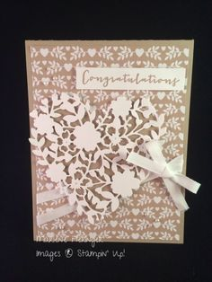 Stampin' Up! Blooming' heart, Love Blossoms                              …