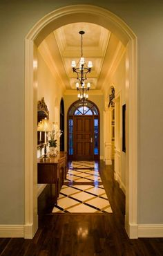 Residential - Projects - P&H Interiors Floor Design, House Design, Foyer Decorating, House Entrance, Entry Foyer, House Rooms, My Dream Home, Home Interior Design, Future House