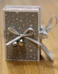 FREE studio cut files mini advent calendar book