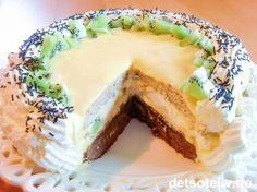 """""""Dronningens kake"""" er en NYDELIG festkake som består av sjokoladekakebunn, mandelbunn og deilig, gul suksesskrem. Kaken fylles og pyntes med pisket krem, kiwi og bananbiter. I anledning så fantastisk kake, tar jeg også med et berømt dikt som antas å være skrevet av selveste Dronning Elisabeth I av England. Selv om hun aldri giftet seg (derav kallenavnet """"The Virgin Queen"""") var det menn i hennes liv, herunder Hertug François de Valois av Anjou, som antakelig er mannen hun har tenkt på da hun…"""