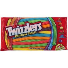 Twizzlers Rainbow Twists Candy by Twizzlers -- Awesome products selected by Anna Churchill