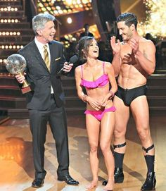 Val Chmerkovskiy Speedo | Dancing With the Stars 10th Anniversary Special Video and Photos: What ...