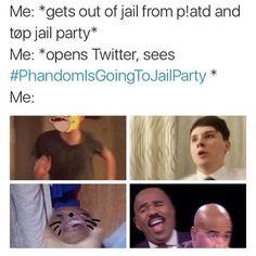 #PhandomIsGoingToJailParty