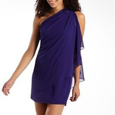 Scarlett Nite Embellished OneShoulder Dress jcpenney